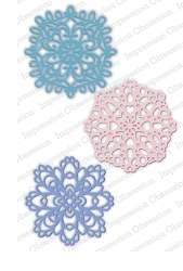 Impression Obsession - Die - Winter Doilies
