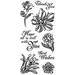 Floral Themed Stamps