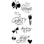 Inkadinkado Clear Stamps - Expressions
