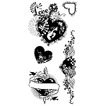 Inkadinkado Clear Stamps - Affair of the Heart