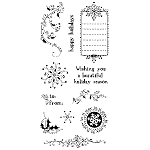 Inkadinkado Clear Stamps - Doodle Holiday :)