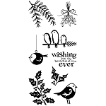 Inkadinkado Clear Stamps - Cool Christmas :)