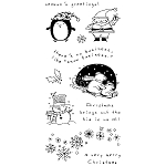 Inkadinkado Clear Stamps - Christmas Characters