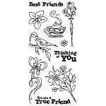 Inkadinkado Clear Stamps - Best Friends :)
