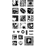 Inkadinkado Clear Stamps - One Plus One Equals Love :)