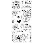Inkadinkado Clear Stamps - Fancy That  :)