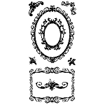 Inkadinkado Clear Stamps - Ornamental Frames