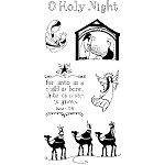 Inkadinkado Clear Stamps - O Holy Night