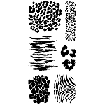 Inkadinkado Clear Stamps - Animal Skins