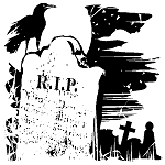 Inkadinkado Clear Stamps - Tombstone