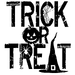 Inkadinkado Clear Stamps - Trick Or Treat