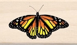 Inkadinkado Wood Mounted Rubber Stamp - Monarch Butterfly :)
