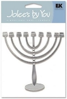 EK Success Jolee's Boutique - Dimensional Embellishments - Menorah Modern