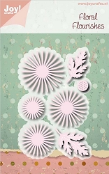 Joy Crafts - Cutting Die - Floral Flourishes Chrysantemum