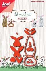 Joy Crafts - Cutting Die - Mon Ami Roger Rabbit