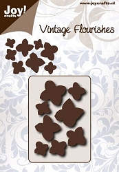 Joy Crafts - Cutting Die - Noor! Vintage Flourishes Hydrangea
