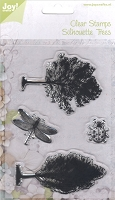 Joy Crafts - Clear Stamps - Silhouette Trees