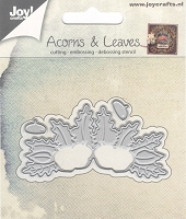 Joy Crafts - Cutting & Embossing Die - Acorns & Leaves