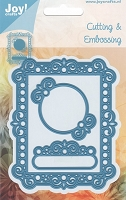 Joy Crafts - Cutting & Embossing Die - Deco Rectangle
