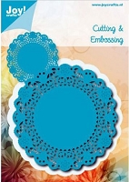 Joy Crafts - Noor Cutting & Embossing Die - Doily Around
