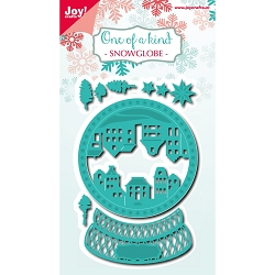 Joy Crafts - Cutting Die - Noor! One Of A Kind Snowglobe