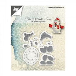 Joy Crafts - Cutting & Embossing Die - Yotr (Snowman)