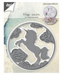 Joy Crafts - Cutting & Embossing Die - Magic Unicorn