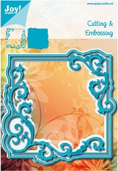 Joy Crafts - Cutting & Embossing Die - Swirl Square Frame