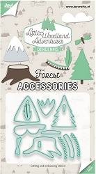 Joy Crafts - Cutting Die - Little Woodland Adventures Forest Accessories
