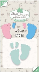 Joy Crafts - Cutting Die - Little Woodland Adventures Baby Feet