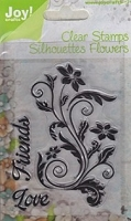 Joy Crafts - Clear Stamps - Friends Flourish