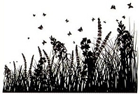 Joy Crafts - Clear Stamps - Grass Silhouttees