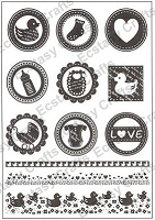 Joy Crafts - Clear Stamps - Baby