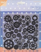Joy Crafts - Clear Stamps - Gears