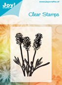 Joy Crafts - Clear Stamps - Cut Flowers