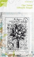 Joy Crafts - Clear Stamp - Silhouette Bouquet