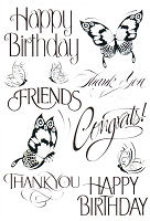 Joy Crafts - Clear Stamps - Large Sayings