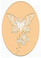 Joy Crafts - Cutting Die - Butterfly Oval