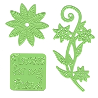 Joy! Crafts - Die - Flowers for a Friend (set of 3)