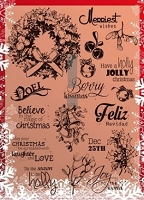 Joy Crafts - Clear Stamps - Christmas Season Stamps