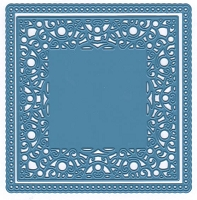Joy Crafts - Cutting & Embossing Die - Square Scalloped Edge (set of 2 dies)