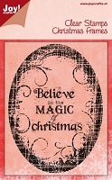 Joy Crafts - Clear Stamp - Believe In The Magic