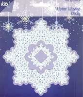Joy Crafts - Cutting & Embossing Die - Winter Wishes Doily