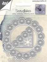 Joy Crafts - Cutting & Embossing Die - Snowflakes Frame & Corner