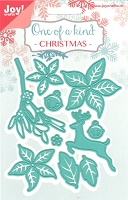 Joy Crafts - Cutting & Embossing Die - One of A Kind Christmas Set