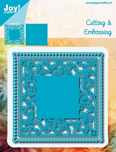 Joy Crafts - Cutting Die - Noor!  Square Butterfly Frame