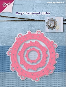 Joy Crafts - Cutting Die - Merry's Frame Work Circles