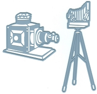 Joy Crafts - Cutting & Embossing Die - Magic Lantern Vintage Cameras