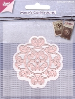 Joy Crafts - Cutting Die - Mery's Curly Round