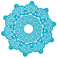 Joy Crafts - Noor Cutting & Embossing Die - Ornate Circles set
